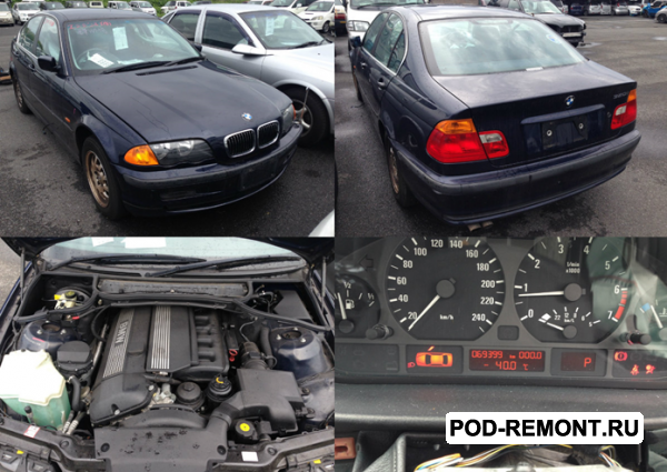 Продам Капот,  крылья,  двери,  крышка багажника и т. д.   для BMW 3 series