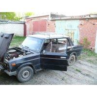 Продам а/м ВАЗ 2106 аварийный